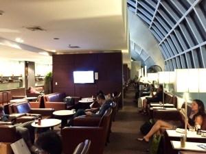 Thai Airways, Thai Royal Silk Lounge, Bangkok Suvarnabhumi International Airport