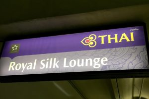 Bangkok, Thai Airways Royal Silk Lounge, Bangkok Suvarnabhumi International Airport