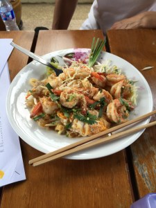 Pad Thai, Thai House, Shrimp Pad Thai