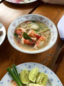 Tom Yam Khung Soup