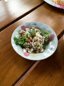 Lap Mu Salad, Thai House, Bangkok,