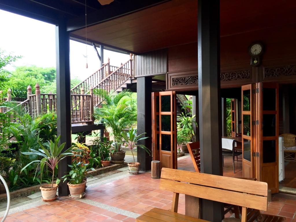 The Thai House Living Area, Thai House, Bangkok, Thailand