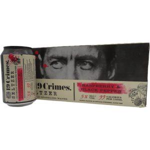 19 Crimes Raspberry & Black Pepper Hard Seltzers