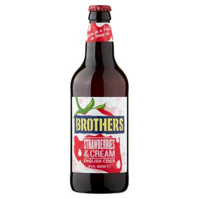 Brothers Strawberry & Cream Flavoured Cider