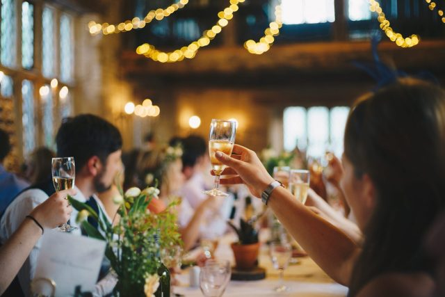 Drinks For A Wedding Toast