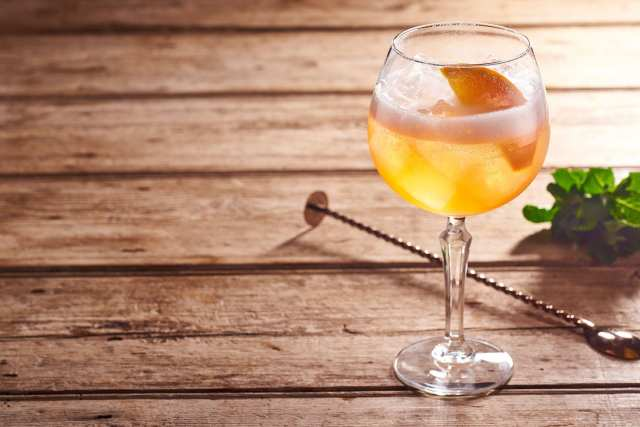 A Maker's Starhill Spritz Cocktail