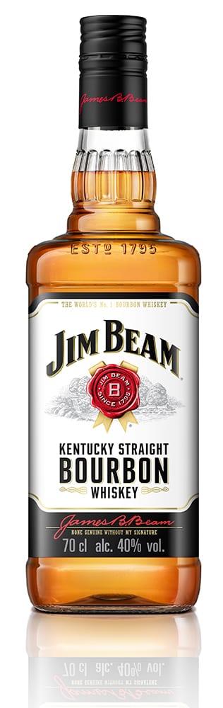 Jim Beam White Label Kentucky Bourbon Whiskey