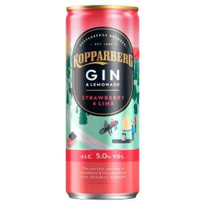 Kopparberg Strawberry & Lime Gin Pre-Mixed Drink Cans