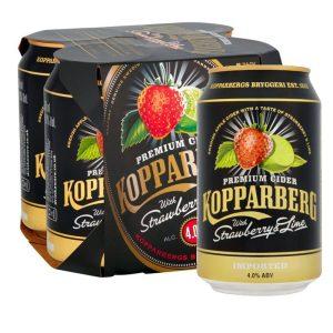 Kopparberg Strawberry & Lime Cider Cans