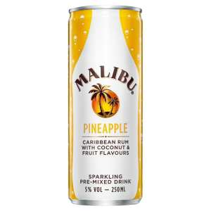 Malibu & Pineapple Premixed Cocktail ready to drink