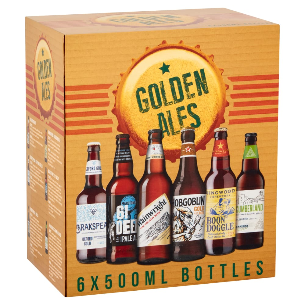 Marston's Golden Ales Section Box