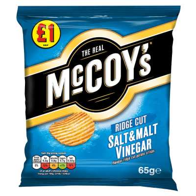 McCoy's Salt & Vinegar Flavoured Crisps