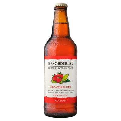 Rekorderlig Strawberry & Lime Swedish Cider Bottle