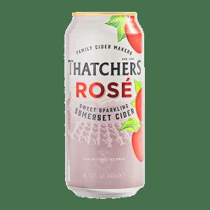 Thatcher's Rosé Cider Cans