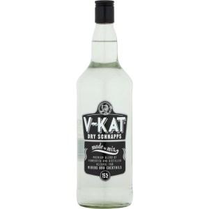 V-Kat Schnapps 1 Litre bottle