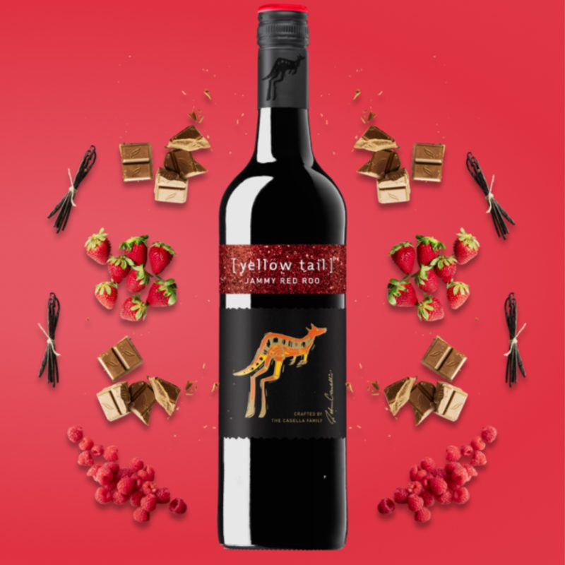 Yellow Tail Jammy Red Roo Wine Flavour Profile