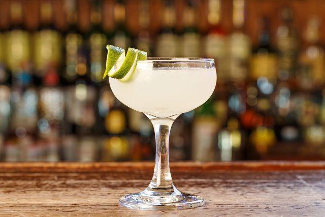 Traditional Daiquiri Rum Cocktail