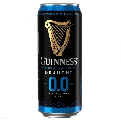Guinness 0.0% Alcohol Free Stout