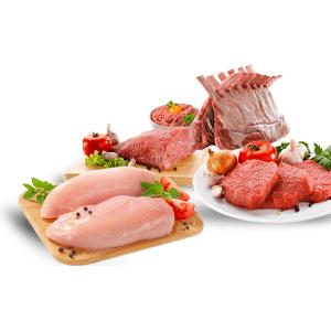 Fleisch-Fisch Supermarkt Lebensmittel online bestellen Express Heimlieferung bringos