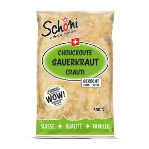 Brignos Schöni Sauerkraut gekocht 500g