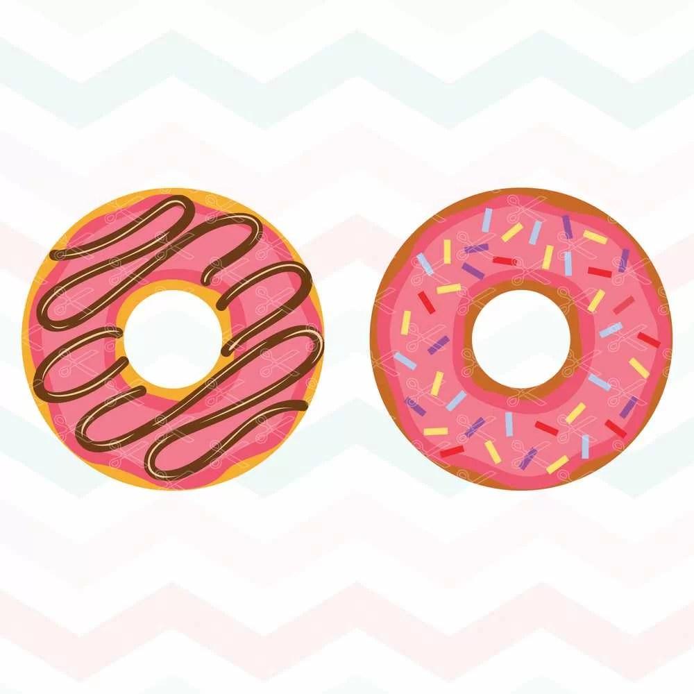 Donut SVG Cut File