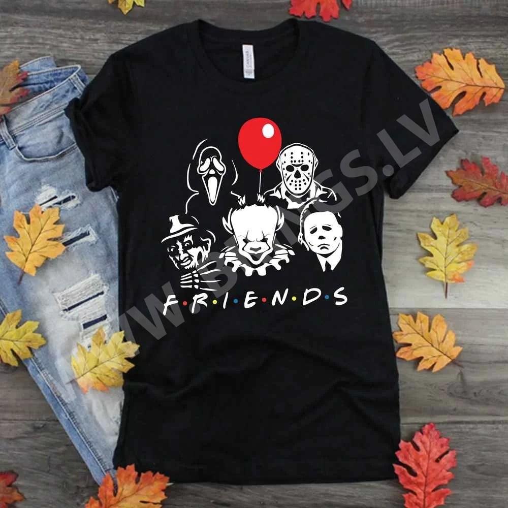 Friends Halloween Horror Team SVG