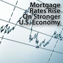 Rates rising on economy