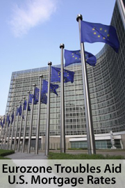 Eurozone trouble aids mortgage rates