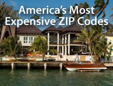Expensive ZIP codes