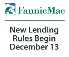 Fannie Mae changes mortgage guidelines