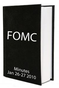 FOMC January 2010 Minutes