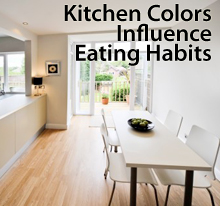 how choosing kitchen colors can affect your eating habits |
