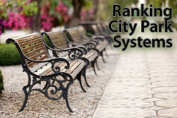 Park rankings by city