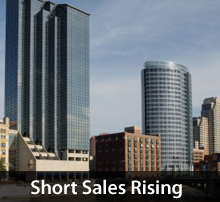 Short sales rising