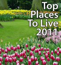 Top Places To Live 2011