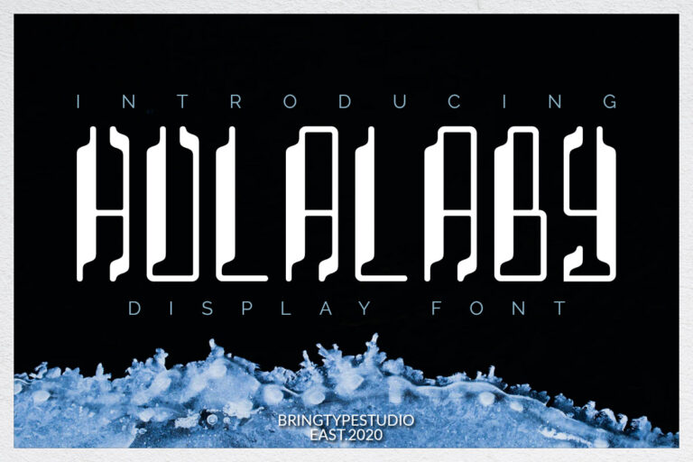 Preview image of Hulalaby -Duo Fonts!
