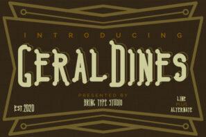 Geraldines - Duo Fonts
