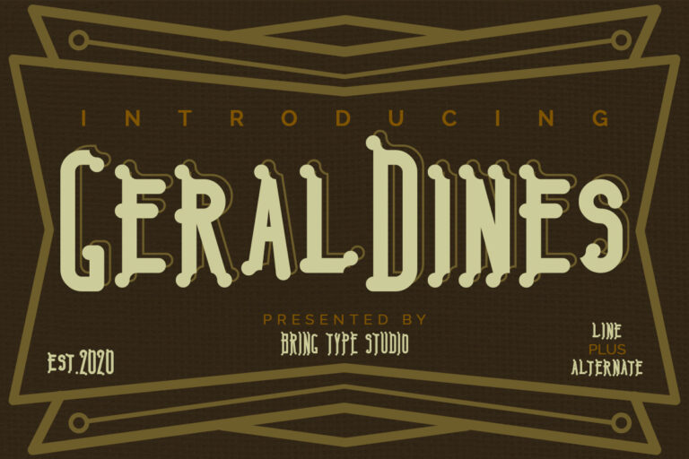 Preview image of Geraldines – Duo Fonts