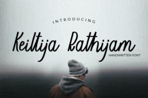 Keiltija Rathijam - Handwriting