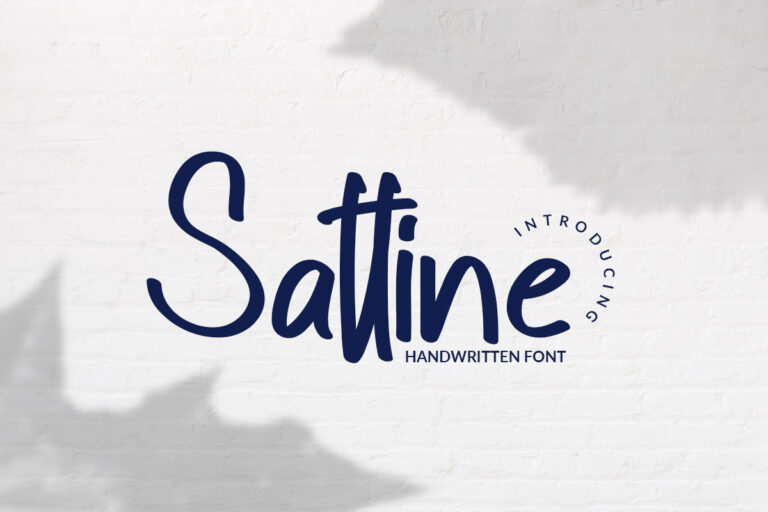 Preview image of Sattine – Handwritten