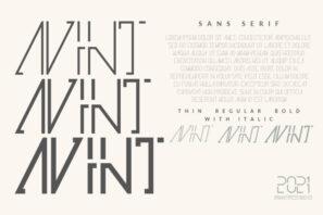 Avint | Sans Serif