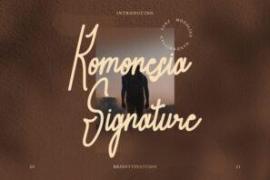 Komonesia Signature
