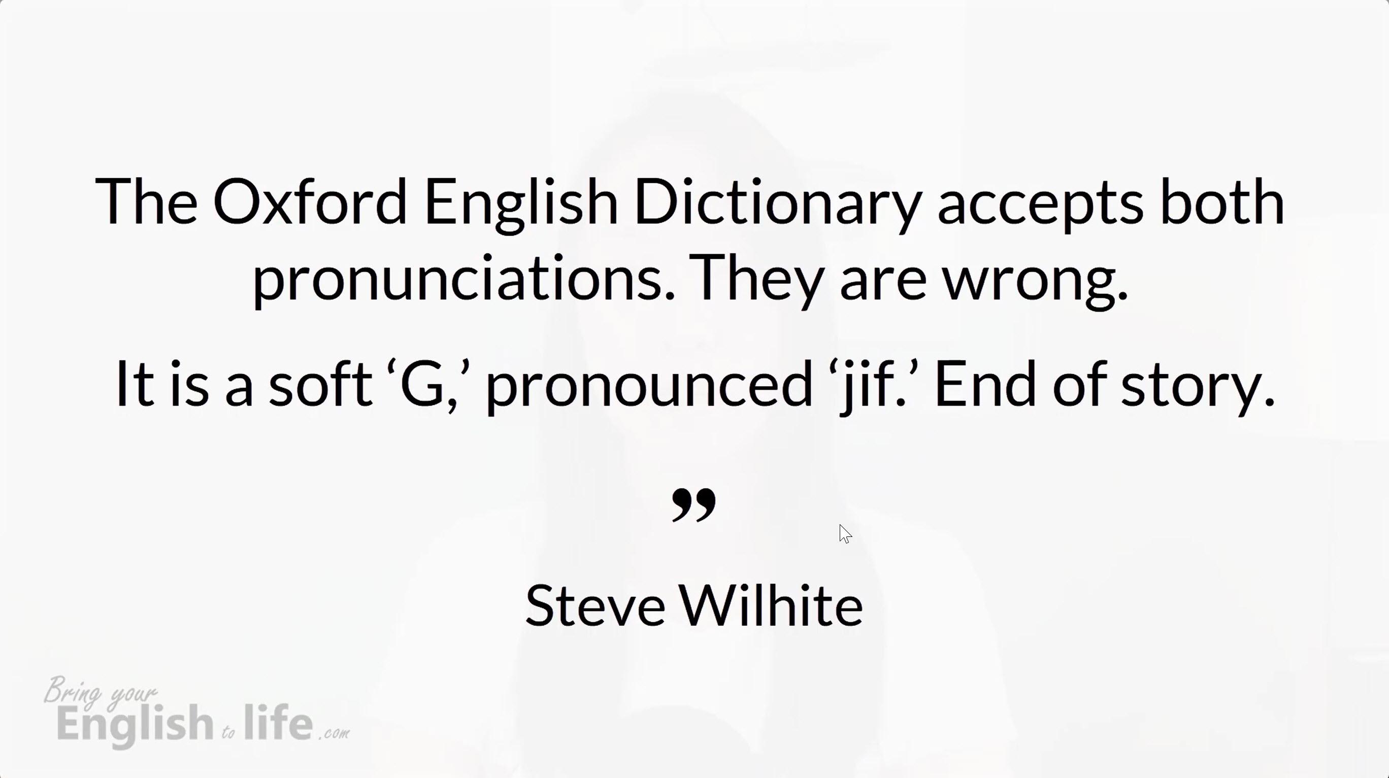 「GIF」檔怎麼發音? 連英文母語者都有爭議 - 活化英文