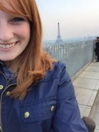 Top of Arc de Triomphe
