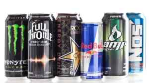 Various Energy Drinks On The Market