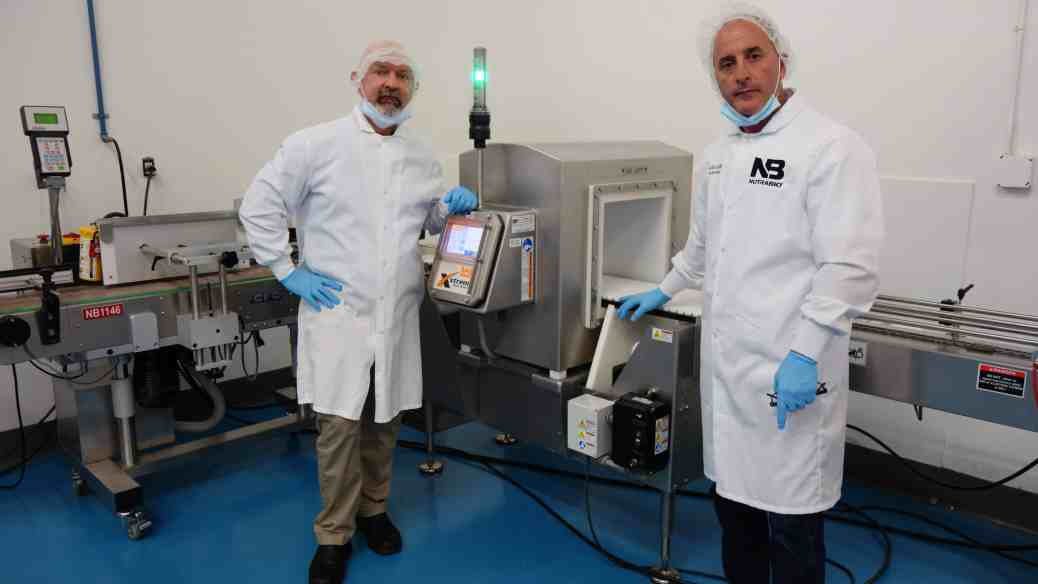 Yours Truly and Mark G at the NutraBio facility