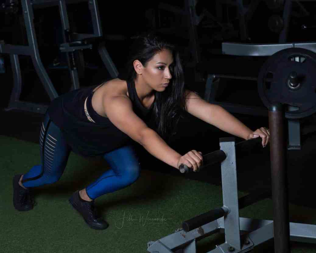 picture of Trainer and model Michelle Martinez