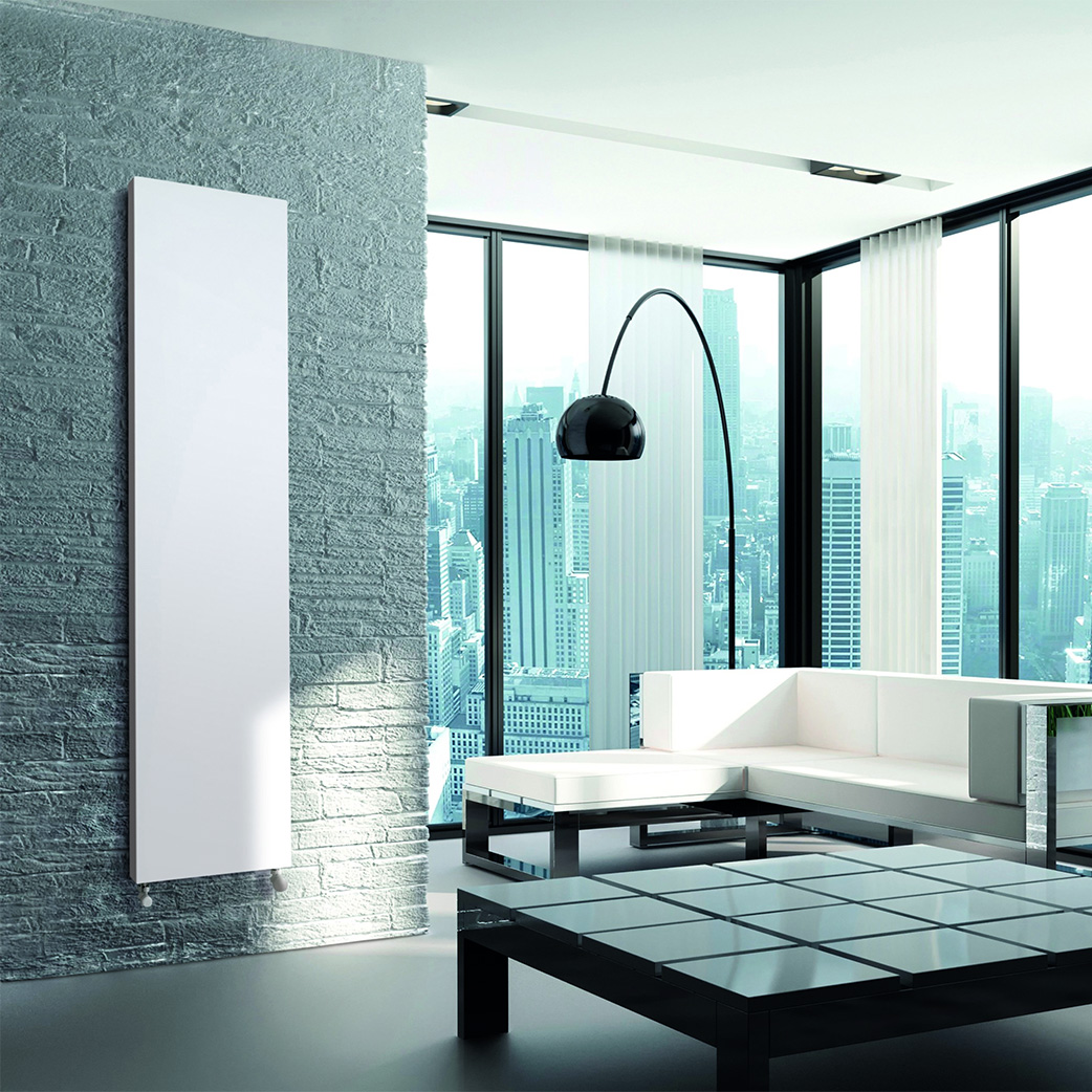 DeLonghi Linear Vertical Steel Panel Radiators