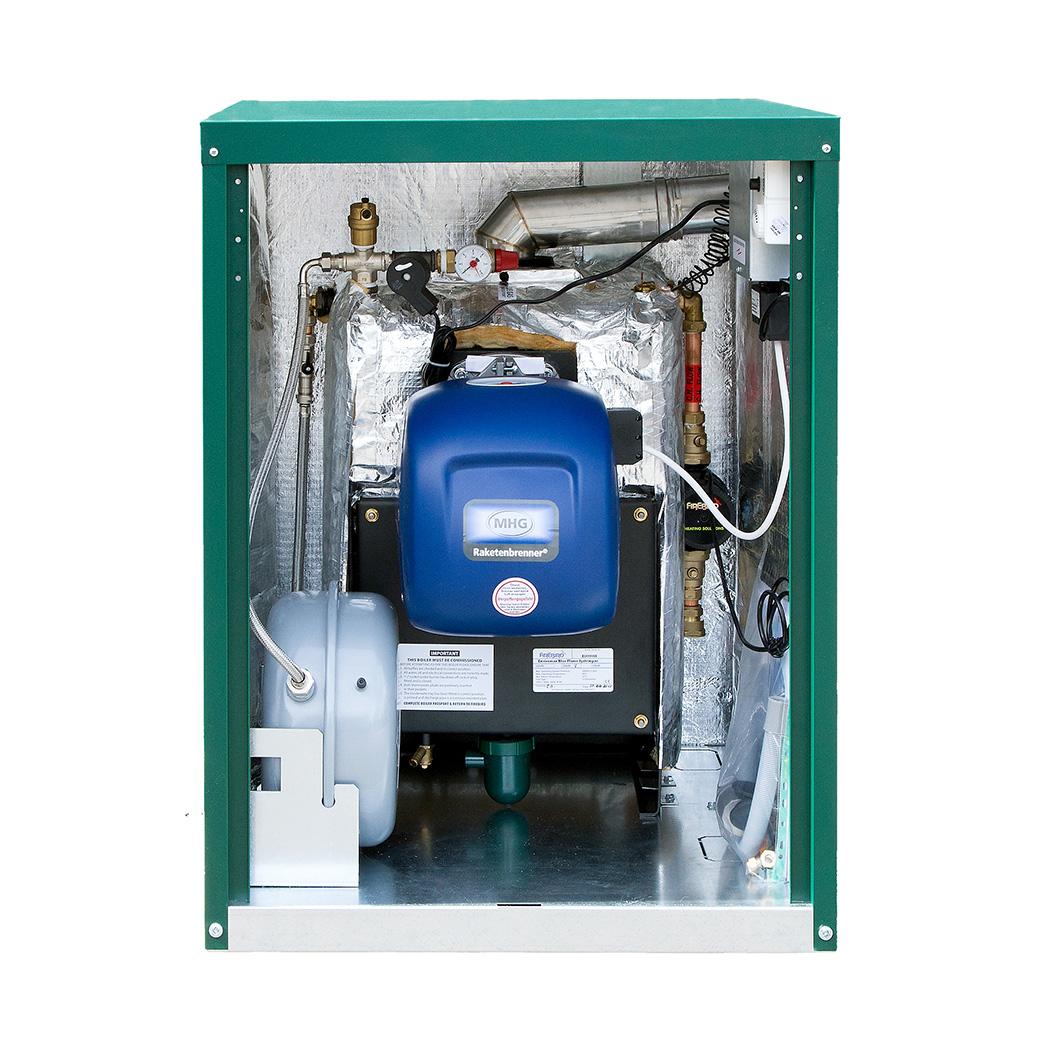 Firebird Enviromax Blue Flame External Boiler
