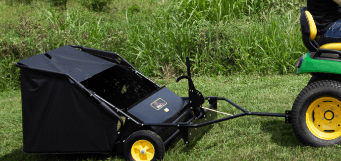 brinly tow lawn sweeper